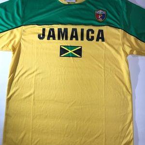 pretty nice e0559 2b23b Soccer World Cup Jersey Shirt Jamaica 2018-Large